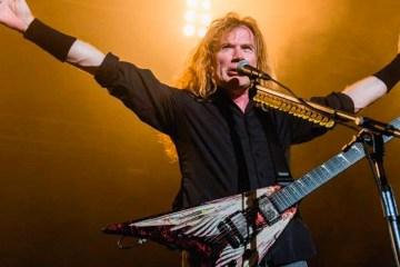 Dave Mustaine de Megadeth, confirma que ya está libre de cáncer. Cusica Plus.