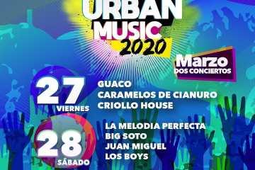 Urban Music 2020, anuncia nuevas fechas de su festival. Cusica Plus.
