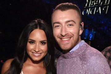 Demi Lovato y Sam Smith se preparan para publicar tema juntos. Cusica Plus.