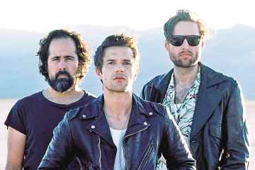 The Killers cantó en vivo el tema 'Caution', de su próximo disco. Cusica Plus.