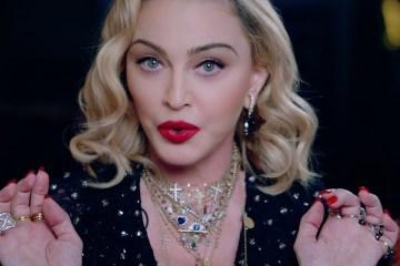 Madonna fue multada por el gobierno ruso, por apoyar al movimiento LGBTQ+. Cusica Plus.