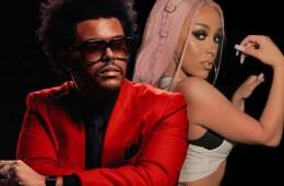 The Weeknd y Doja Cat estrenan video animado de 'In Your Eyes'. Cusica Plus.