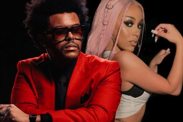 The Weeknd y Doja Cat estrenan video animado de 'In Your Eyes'. Cusica Plus.
