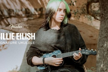 Billie Eilish lanza su propio Ukelele de Fender. Cusica Pus.