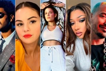 J Balvin, The Weeknd y Selena Gomez, entre las personas más influyentes del 2020, según la revista TIME. Cusica Plus.