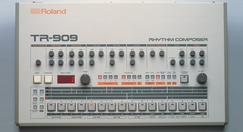 Roland announce standalone VSTs of TR-909 and TR-808