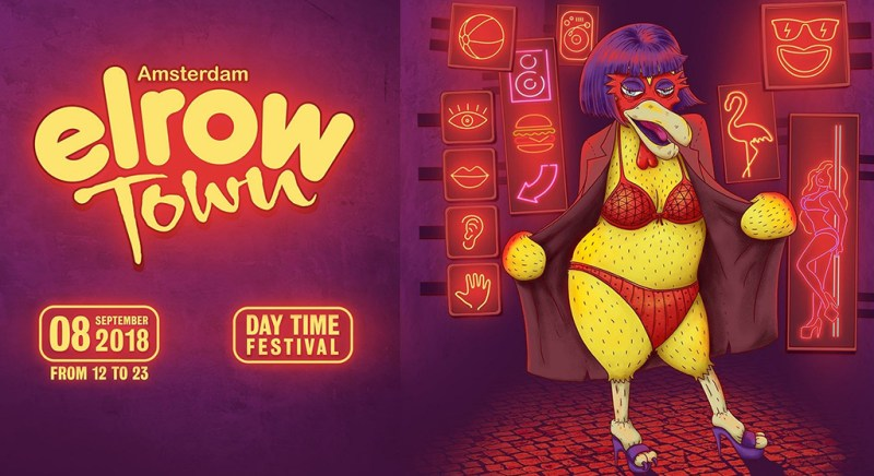 elrow are hiding golden tickets in Amsterdam this Sunday
