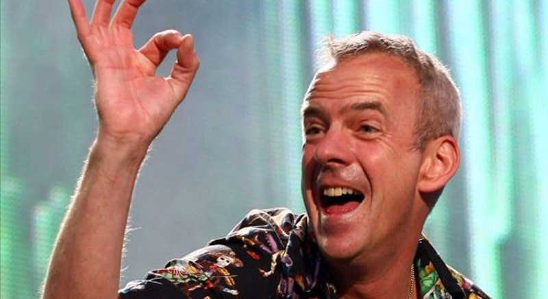 Fatboy Slim is playing a massive warehouse rave
