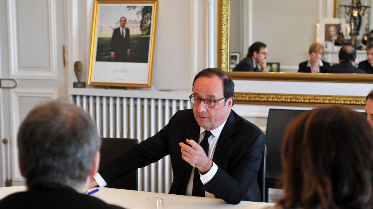 Franois Hollande Au Soir Des Frappes En Syrie En 2013