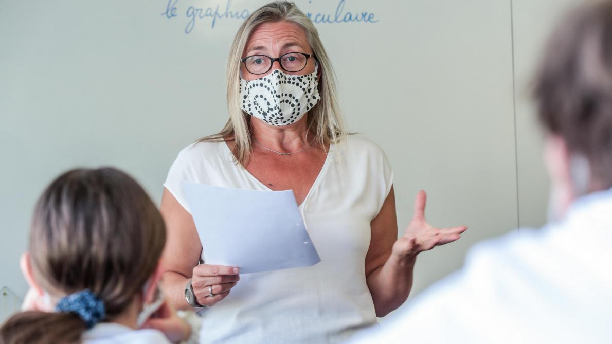 Carte blanche - «Les enseignants masqués ne tiendront pas!»