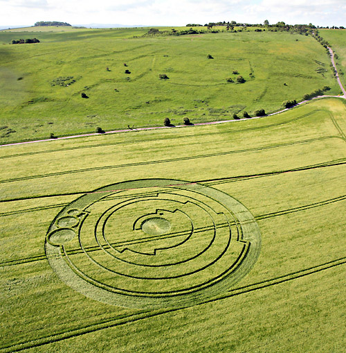 Barbary castle crop circle
