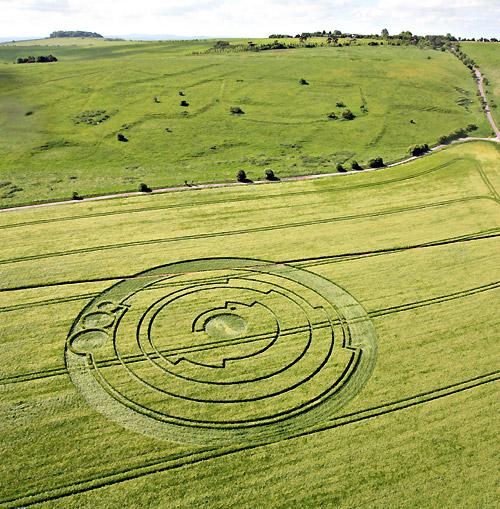 Barbary castle crop circle