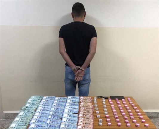Security forces: the arrest of a drug promoter with a crime