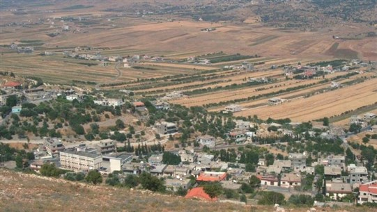 The municipality of Al-Rafid Rashaya wished the townspeople to abide by their homes
