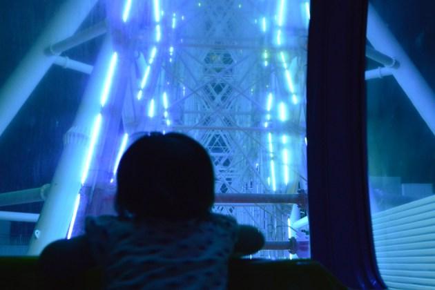 近未来少女 観覧車の照明がおもしろいらしい