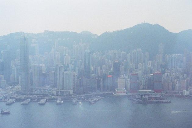 Olympus_OM-1_×_Kodak_SUPERGOLD400_in香港_ICC_SKY100_香港島