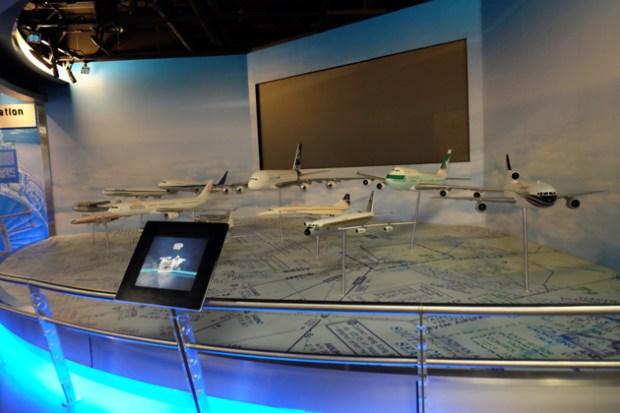 航空探知館_Aviation_discovery_center_展示模型