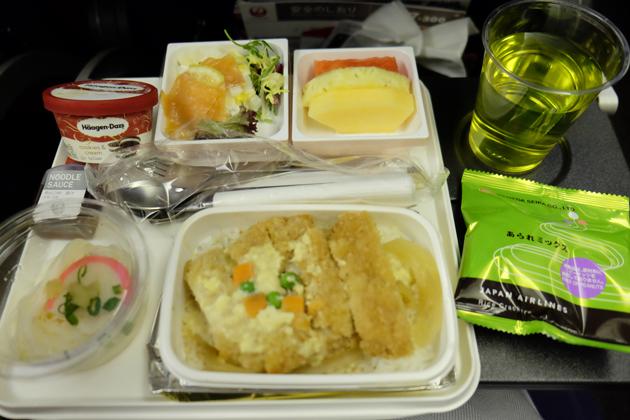 日本航空 JL26_香港⇒東京/羽田_機内食
