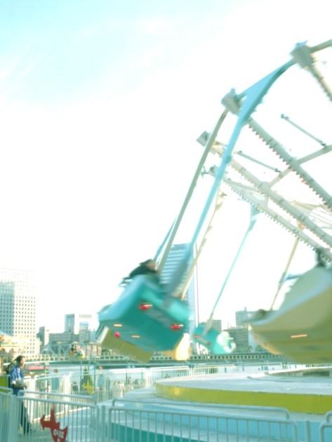 横浜 コスモワールドにて