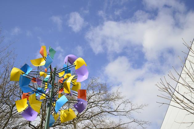 箱根彫刻の森美術館 春の訪れ 暖かくなってきた!