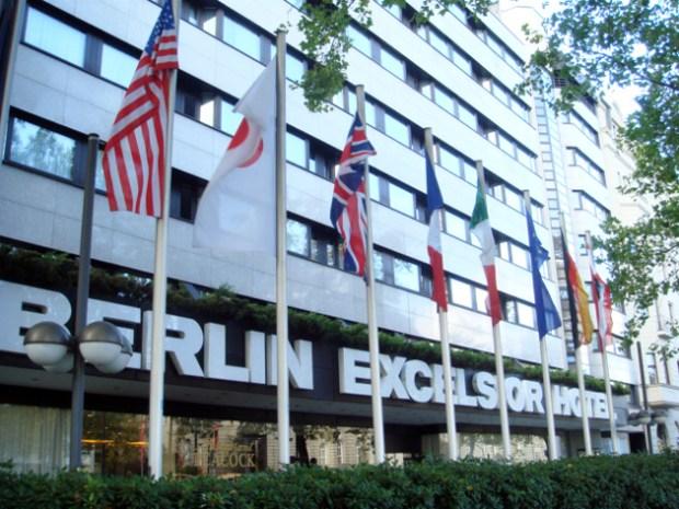Berlin Excelsior Hotel (BelrinZoo駅近くのホテル) 外観