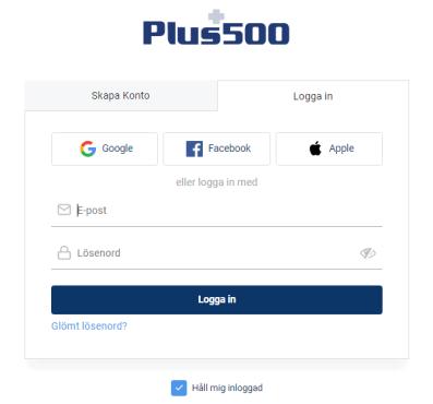 Öppna plus500 konto