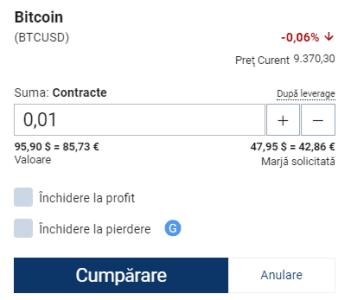 Cumpără Plus500 bitcoin