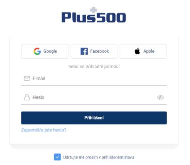 Otevřít Plus účet