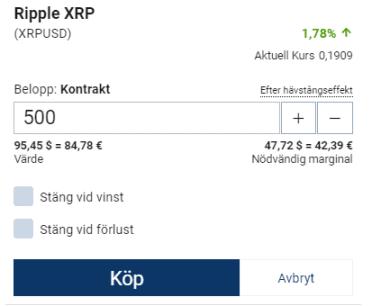 trading med Ripple