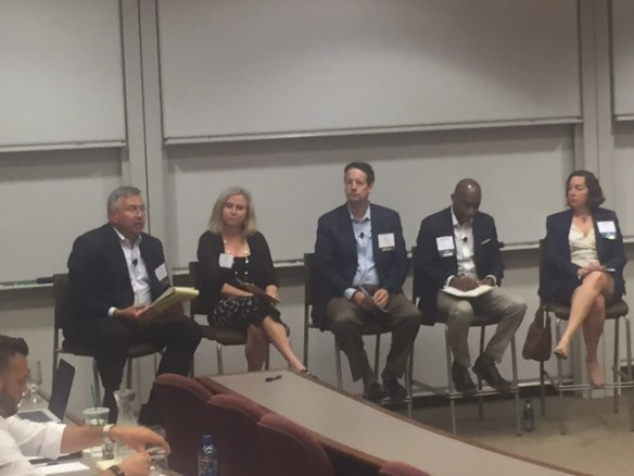 Industry Leaders Roundtable Facilitated by PLUS President, Jim Skarzynski, Esq. Panelist - Kim Noble, RPLU; Phil Norton, Ph.D., Kenneth Stephens, RPLU, & Debbie Schaffel, RPLU.