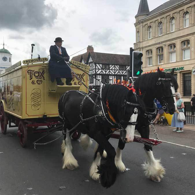 Vehicle Parade – BAR Conference, Stratford-Upon-Avon