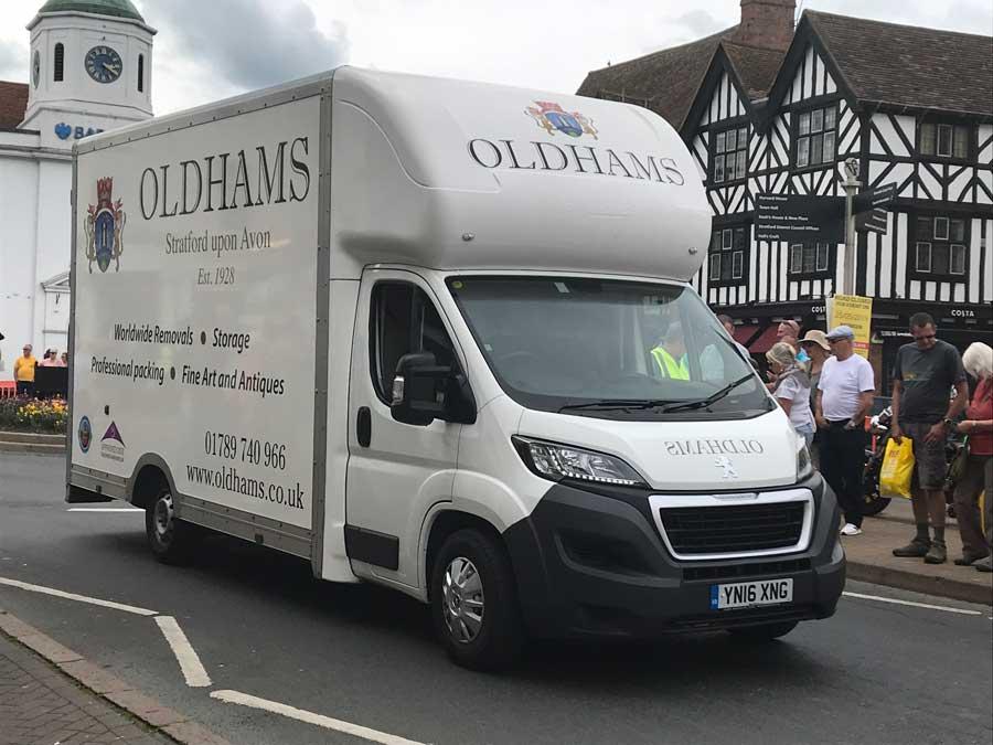 Oldhams Van