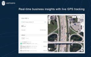 Samsara vehicle tracking software