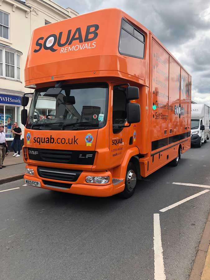Squab lorry