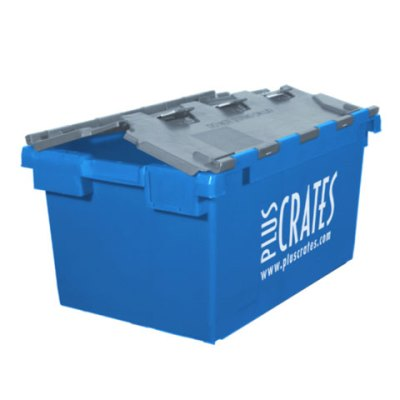 L3C Lidded Crate - Slightly open