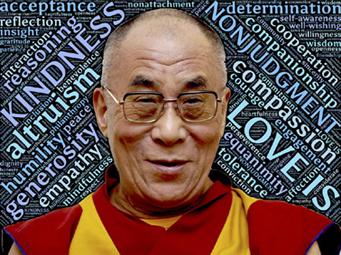 citation inspirantes dalai lama
