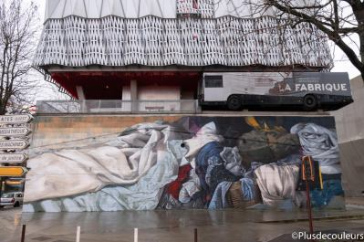 Le Mur Nantes Rouge