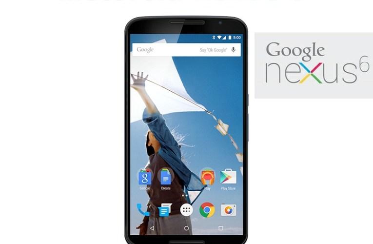 Motorola Nexus 6  Full Features