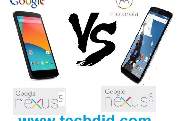 LGNexus 5 vs MotorolaNexus 6