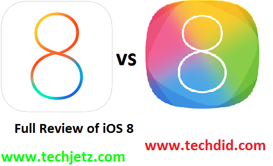 Full Review of  iOS 8