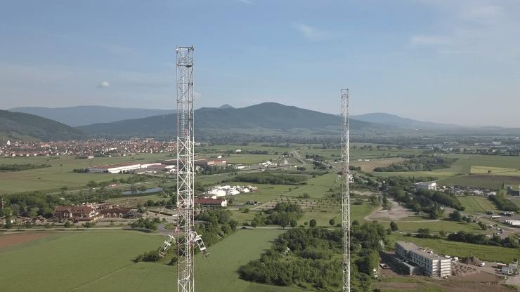 Antennes TDF, Alsace