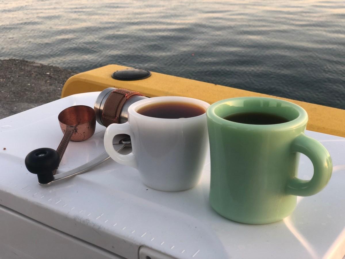 釣りとコーヒー