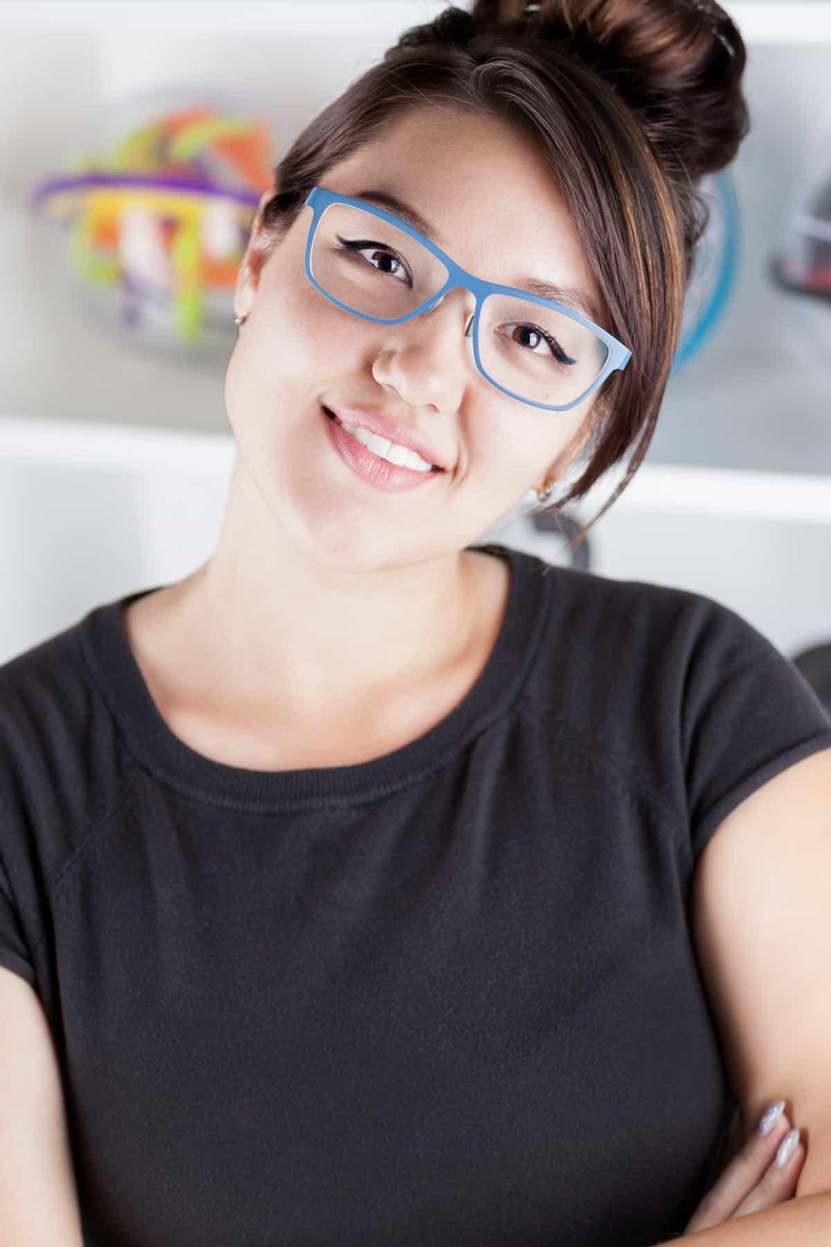 Portrait of Entrepreneur Angie Hilem