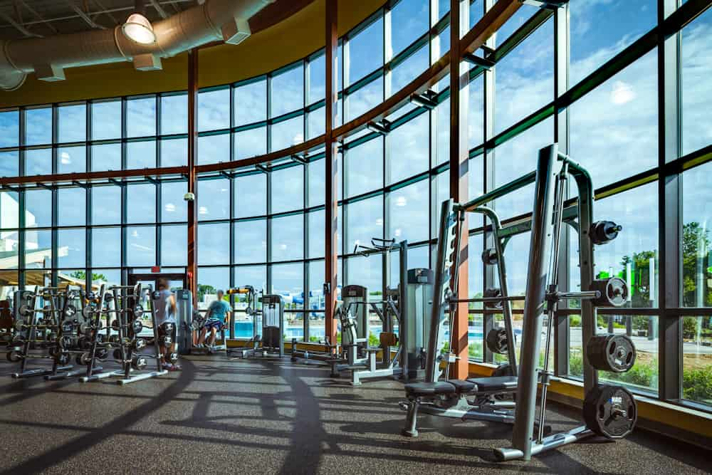 Photography of Newtown Athletic Club for Life Fitness