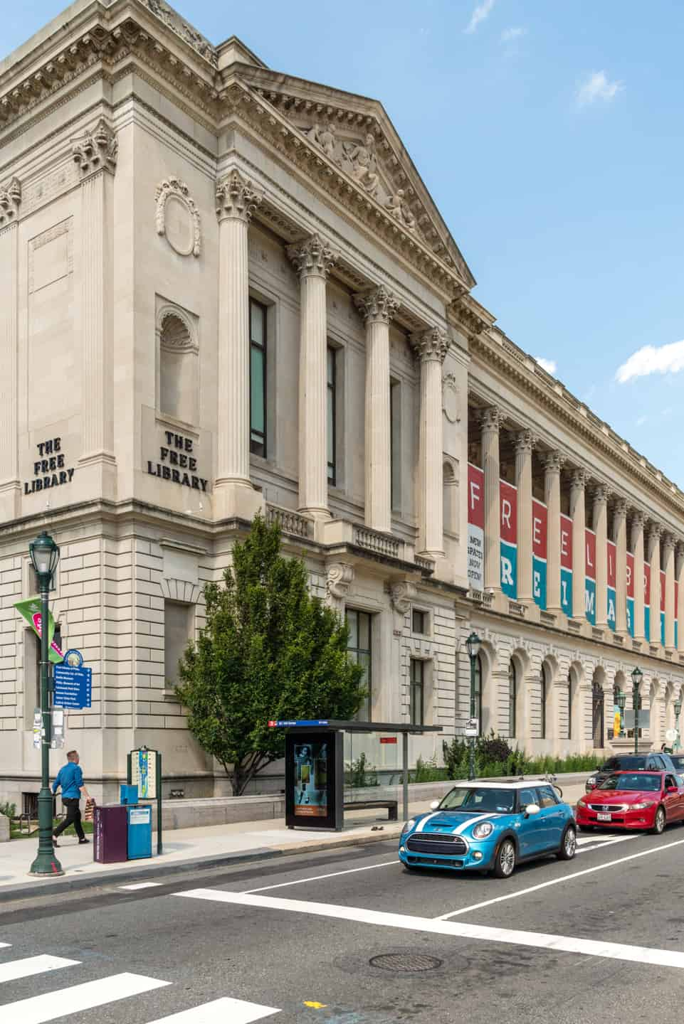 Photo of Philadelphia Landmark - The Free Library of Philadelphia