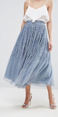 ▌Outfit ▌ 老少女走四方:Rails針織上衣+Needle and Thread紗裙+Valentino Tango+MANU Atelier Pristine