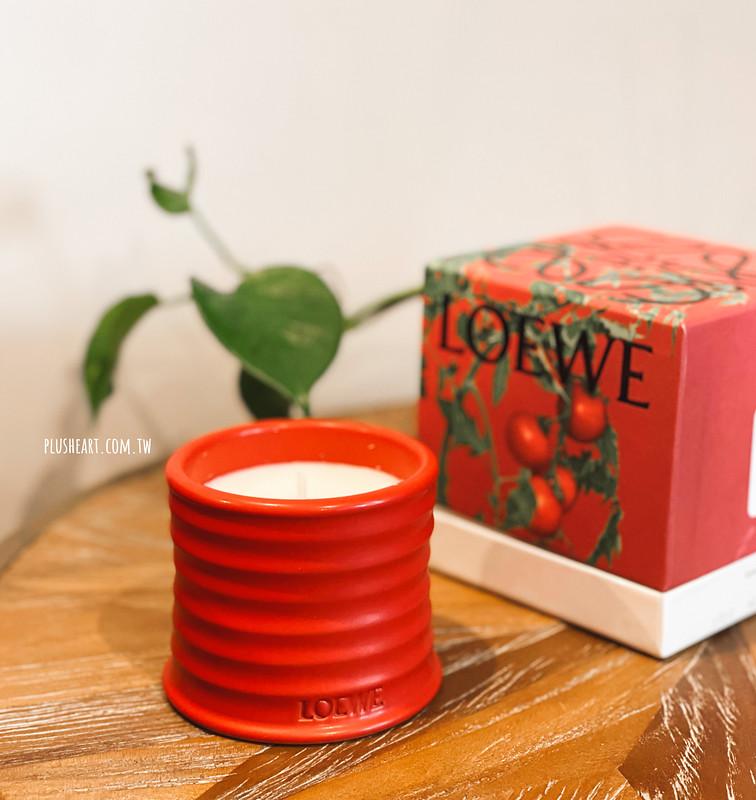 Loewe番茄葉香氛蠟燭 + Tom Dixon鍊金術擴香 + Self-Portrait針織外套小洋裝實穿