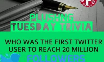Tuesday Trivia Question: Who was the first Twitter user to reach 20 million followers?