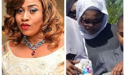Nollywood Actress Aishat Abimbola Buried Amidst Tears