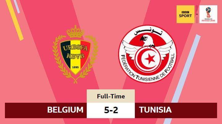 DOWNLOAD VIDEO: Belgium Vs Tunisia 5-2 #BELTUN All Goals & Highlights